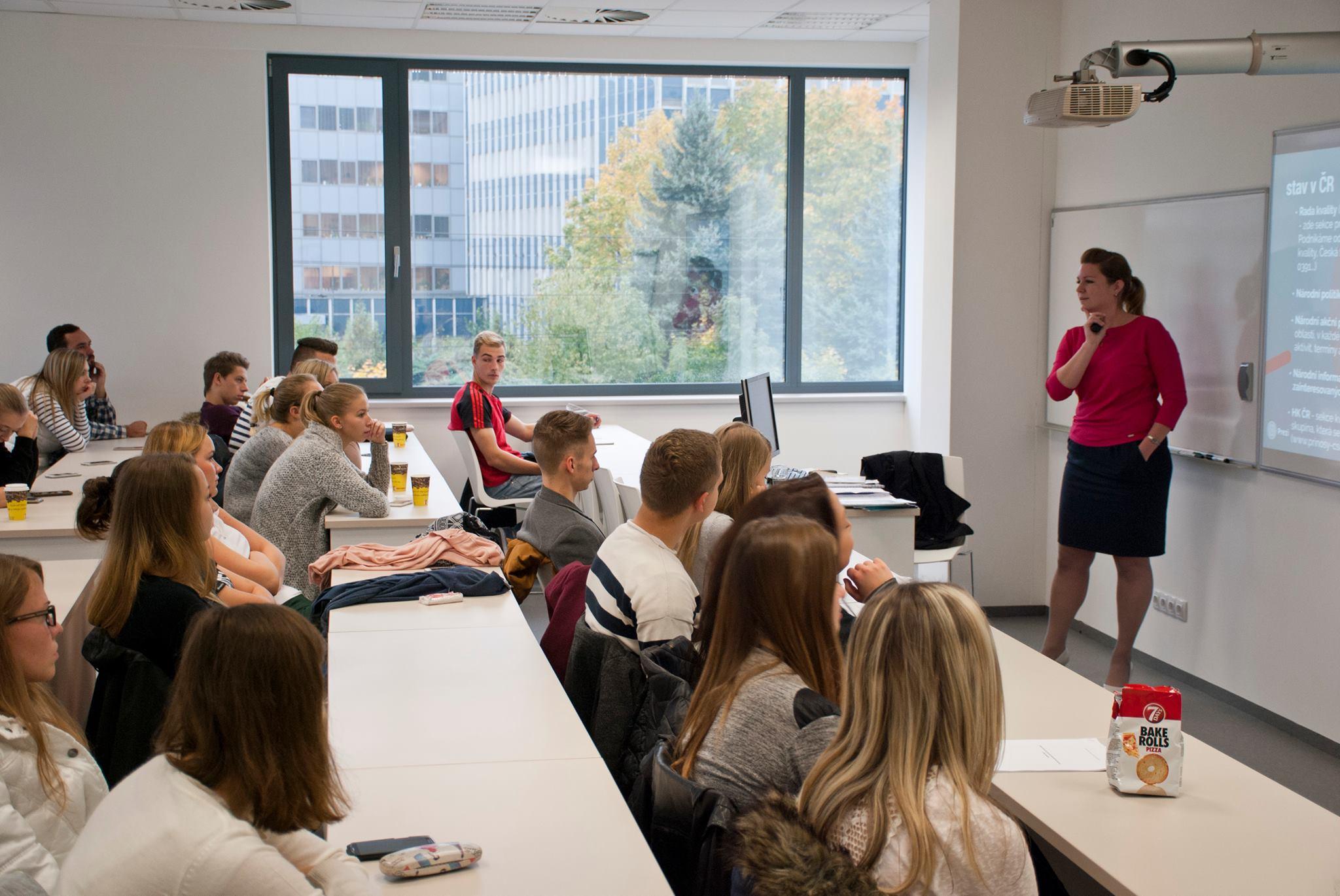 Úvod do CSR pro studenty Moravské vysoké školy Olomouc, o.p.s.