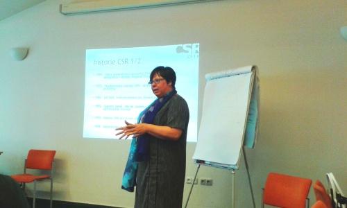 Ing. Alena Chalupová, MBA o historickém vývoji CSR
