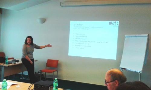 Zdenka Vymětalová mluví o principech CSR