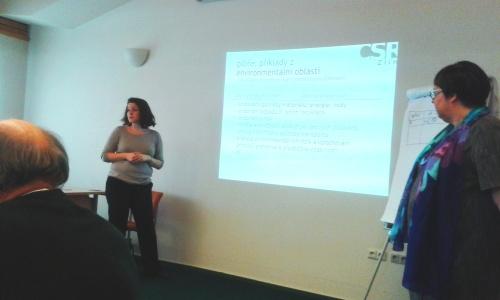 diskuze o aktivitách v environmentální oblasti