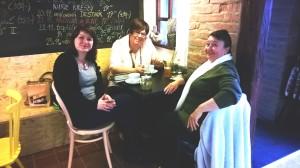 zleva: Zdenka Vymětalová, Alena Chalupová, Milada Šnajdrová